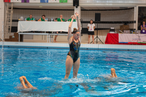 Gay lesbian synchronised swimming