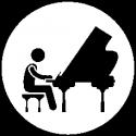 Concert d'orchestre de salon