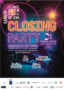 Affiche Closing Party