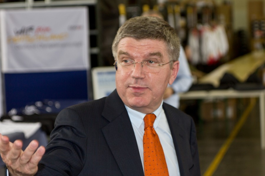 Thomas Bach by Sven Teschke