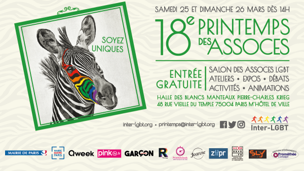 Affiche 18e Printemps des Associations 2017