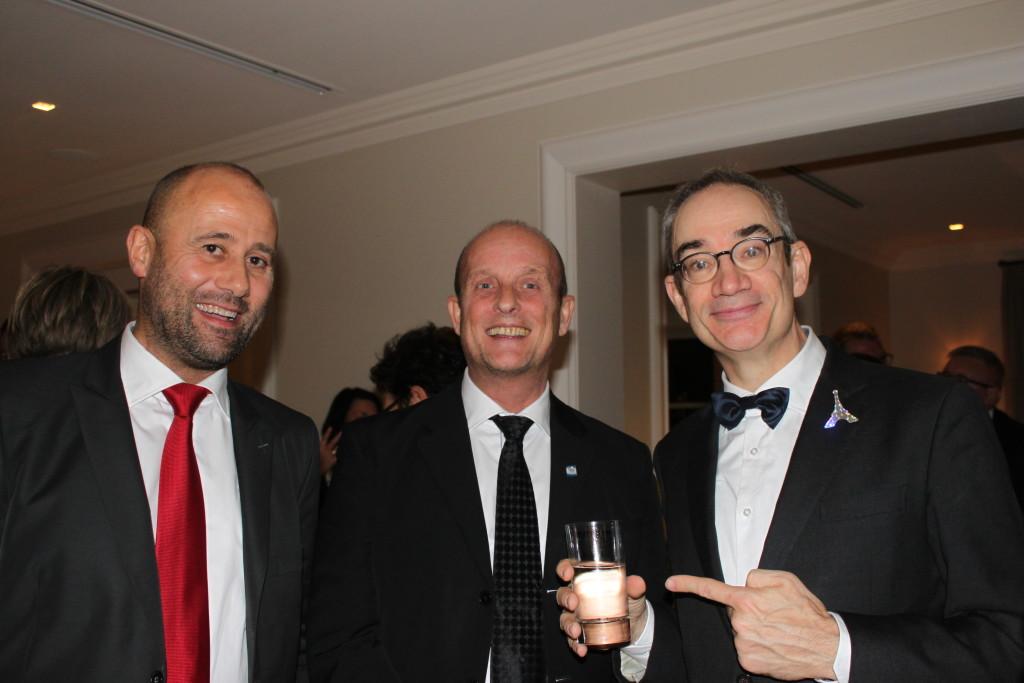 Bruno Ferré, Alain Périé et Manuel Picaud